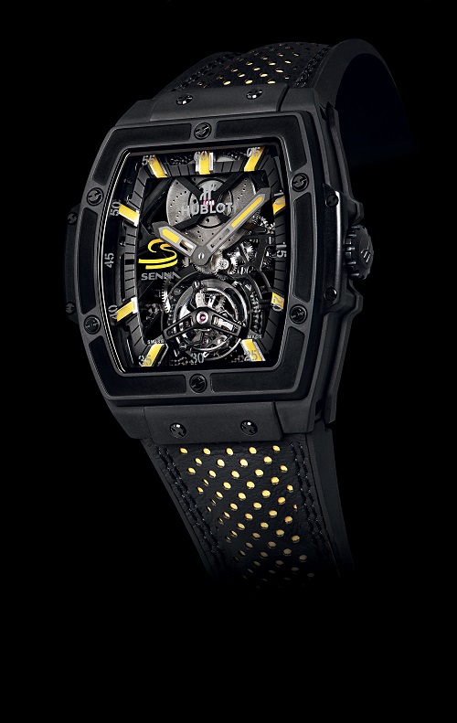 Hublot MP 06 Senna Tourbillon watch