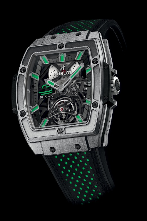 Hublot MP-06 Senna Tourbillon