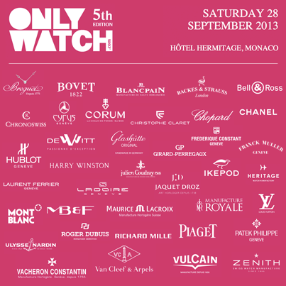 Only Watch 2013