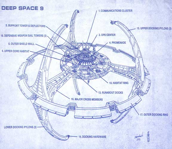 Deep Space Tourbillon Blueprint