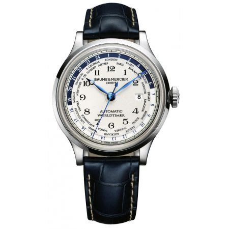 Baume and Mercier Capeland Worldtimer Automatic