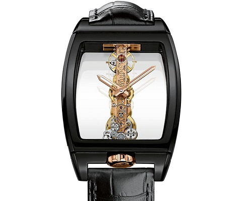 Corum Golden Bridge Ceramic edition