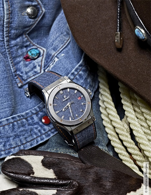 Hublot Classic Fusion Denim watch
