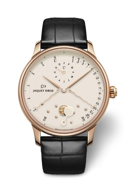 jaquet droz eclipse perpetual calendar watch