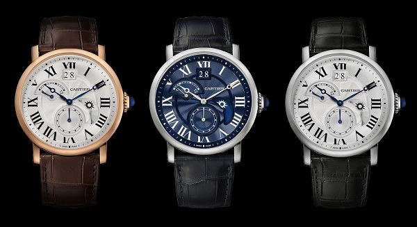 Rotonde De Cartier Second Time Zone Day Night