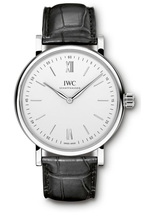 IWC Portofino hand wound pure classic SIHH 2015