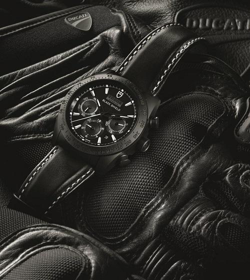 Tudor Fastrider Black Sheild watch
