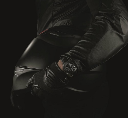 Tudor Fastrider Black Shield Chronograph watch