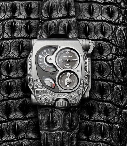 Urwerk EMC Pistol watch