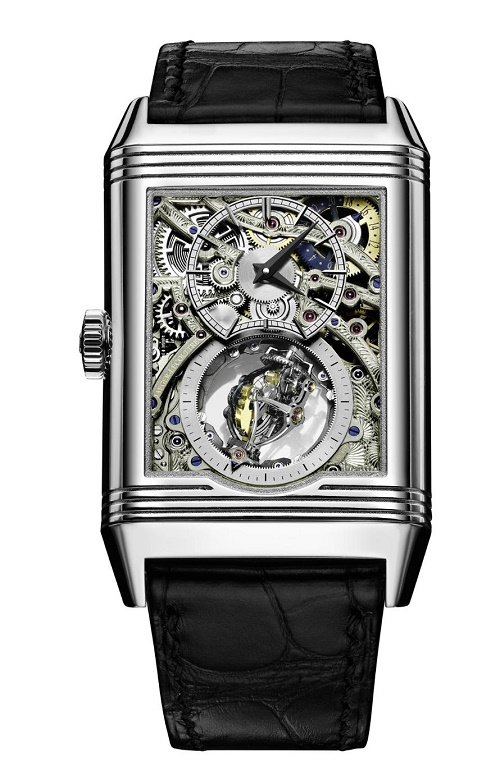 Jaeger LeCoultre Reverso Tribute Gyrotourbillon watch