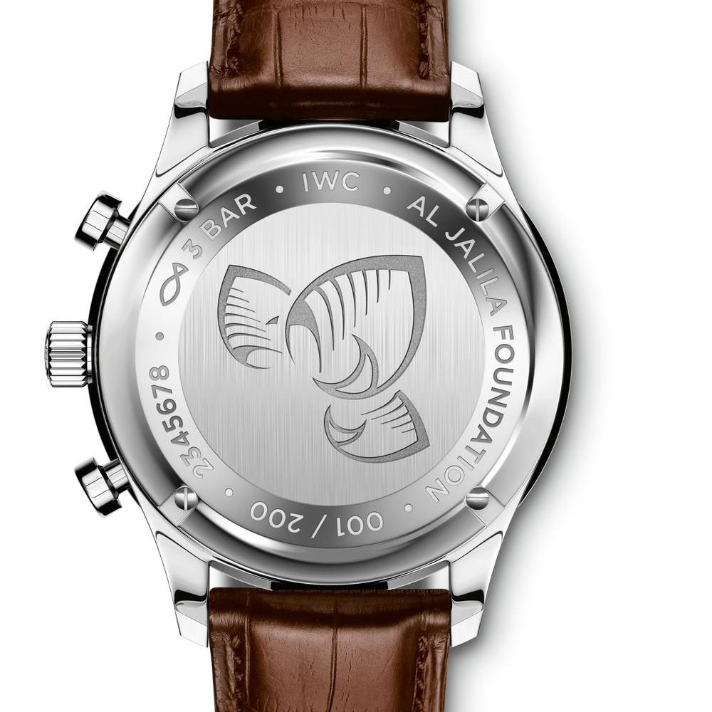 Portugieser Chronograph Edition Seddiqi – Al Jalila Foundation Dubai