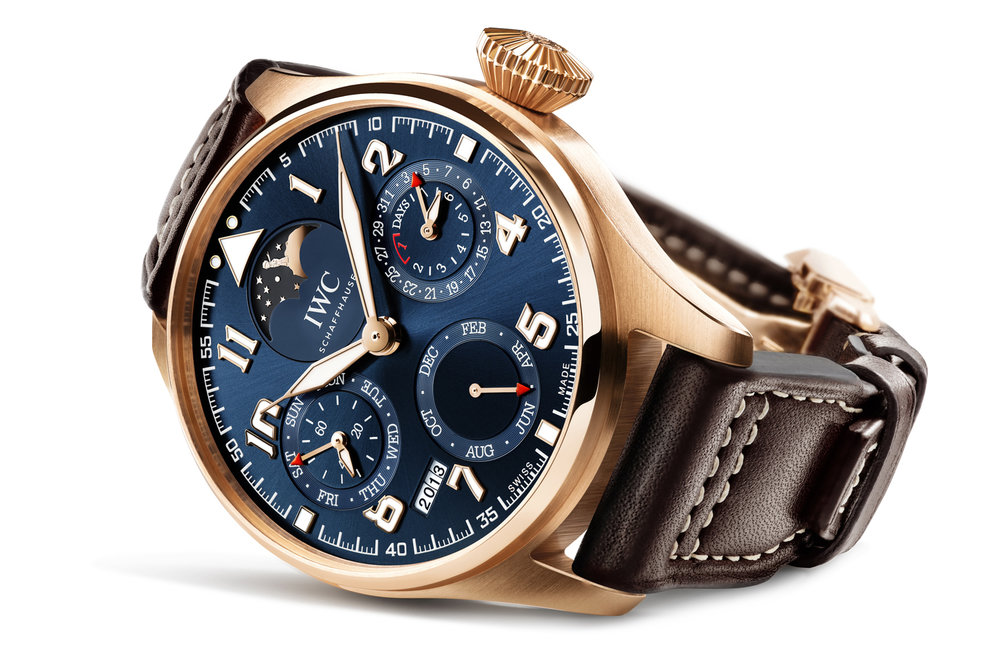The new IWC Big Pilot's Watch Perpetual Calendar Edition Le Petit Prince