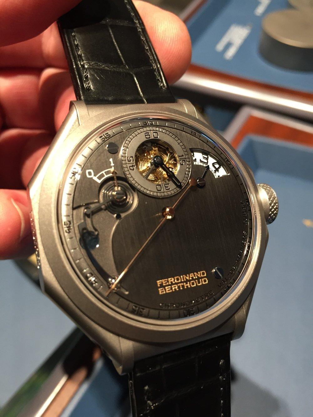 Chronomètre Ferdinand Berthoud FB 1R-6.1