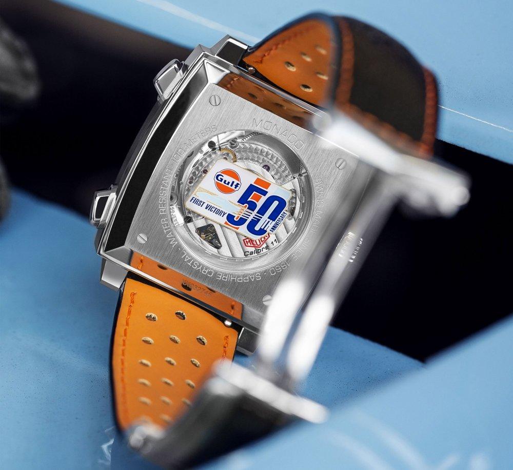TAG Heuer Monaco Chronograph Gulf Racing 50th Anniversary