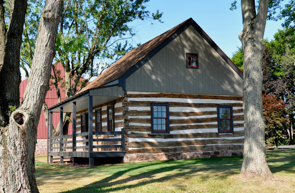 Restored Log Cabin