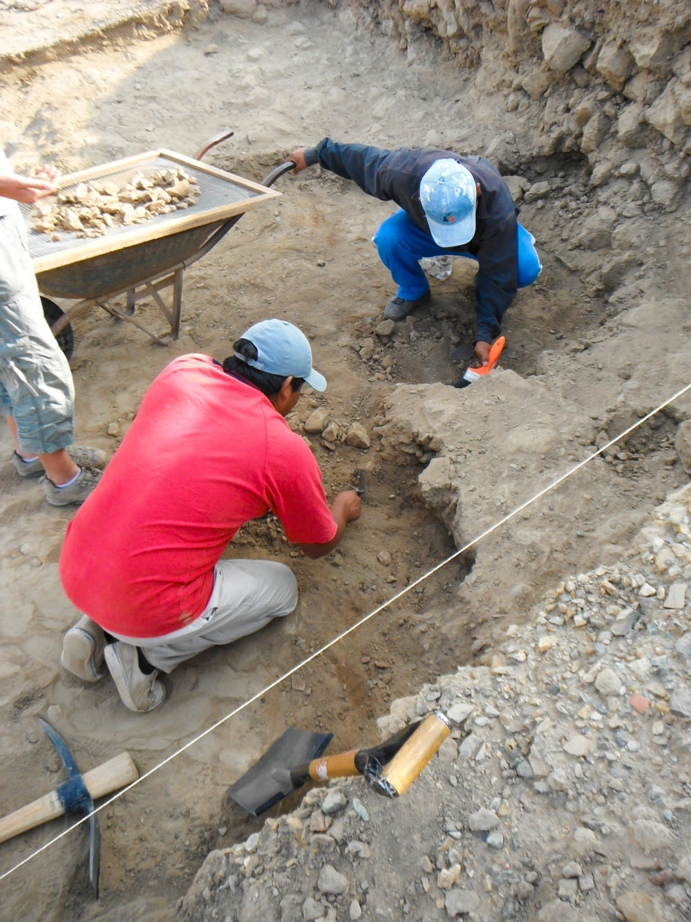 PATO excavation at Talambo   |   Jequetepeque Valley