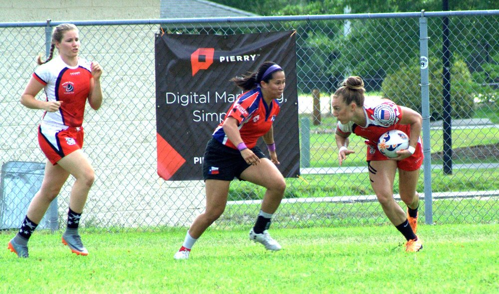One of the largest Rugby Tournaments happens right here in our back yard. July 7th and 8th, at Ogden Park Wilmington, NC the Raleigh Venom 7s team will be competing in the Club Bracket. Come enjoy some hard hits, ocean breeze, and sun!   Amanda Street and Allie Wetzel play for the Venom, come see them in action outside of the gym.   Raleigh Venom Saturday Game Times:   9:20am, 11:40am, 1:20pm  Sunday TBD