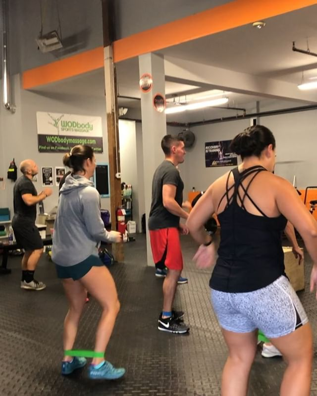 Saturday was full of dancing, rowing, burpee box jumps, power snatches, and T2B. Never to old to have recess! #adultrecess #saturdayteamwod #crossfit #fitness #fun #fuquayvarina #fvdowntown #wearefv