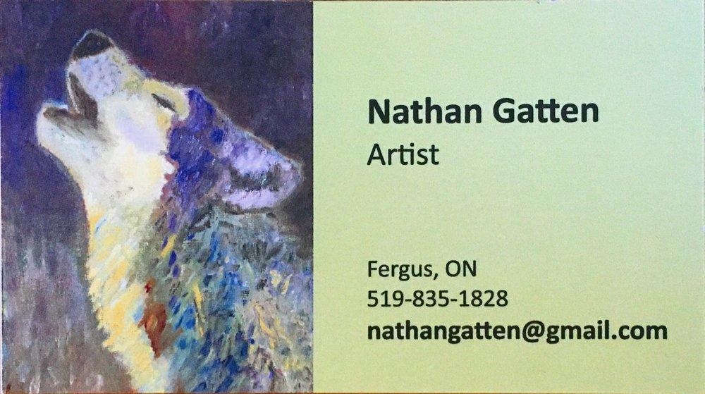 Nathan Gatten, Artist