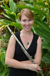 Flutist Claire Starz Butin