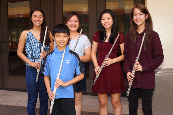 Junior Flute Ensemble - Designed for younger, less-experienced flutistsBeginner and Intermediate-level musical selectionsImprove flute skills and ensemble playing