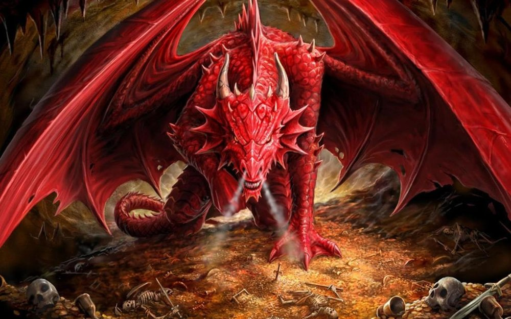 Dragons love to eat pumpkins.  A farm had a patch of 24 pumpkins.  If four dragons eat an equal number of pumpkins from the patch, how many pumpkins would each dragon eat?