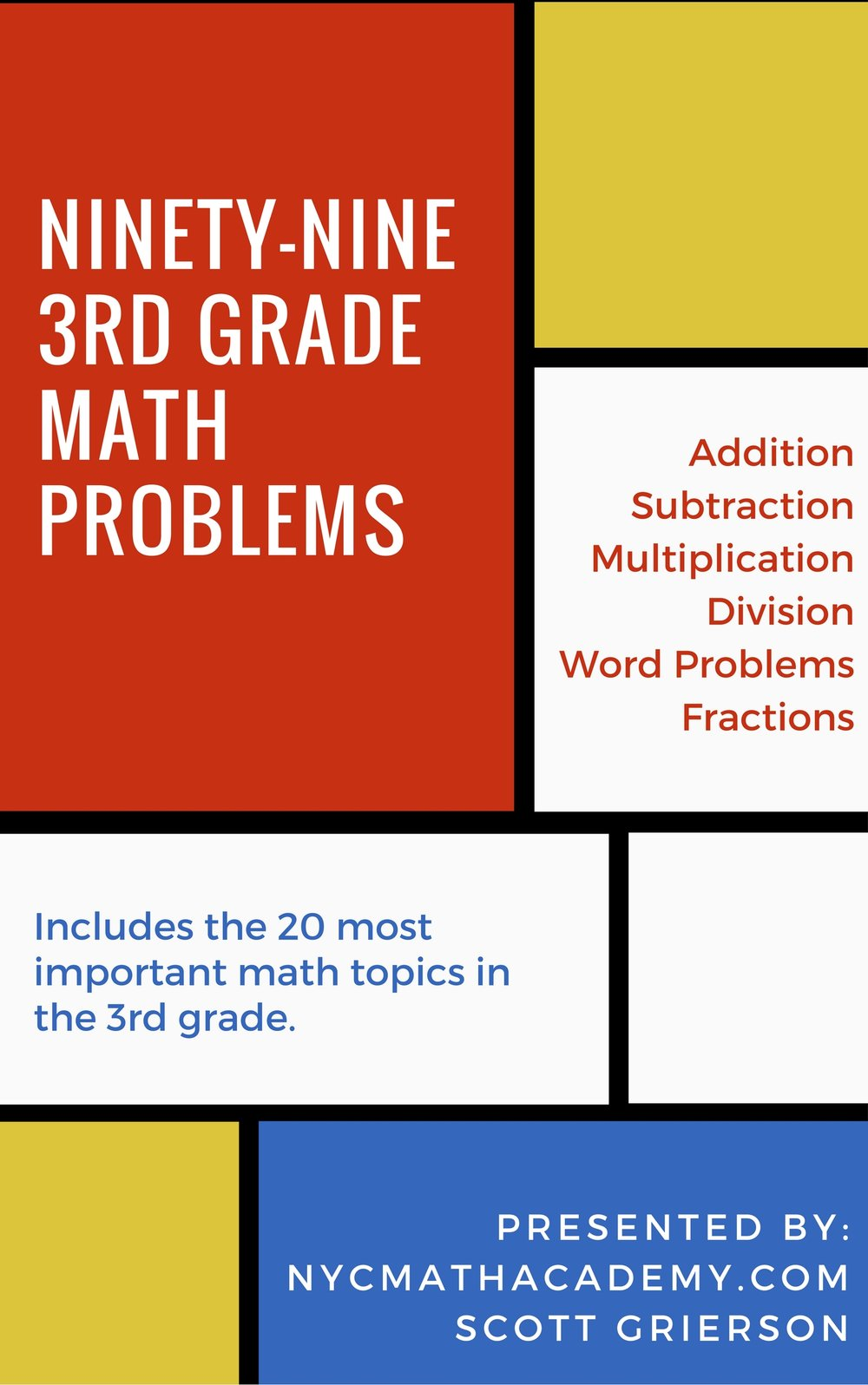 We appreciate your business!  Please Check out Our 3rd Grade math courses at   NYC MAth Academy. Try our courses risk free for 30 days! -  Find out more below: