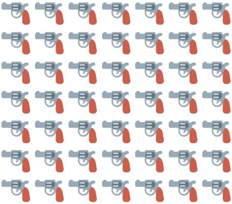Gun Emoji Pairings — Lexical Items
