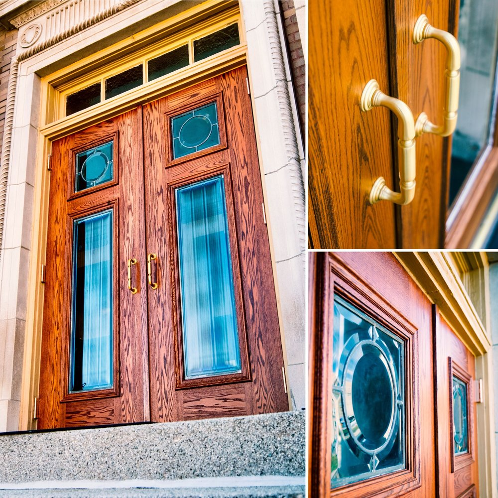 Wood Door Installation at First Christian Church, 927 Faraon Street Saint Joseph, MO 64501