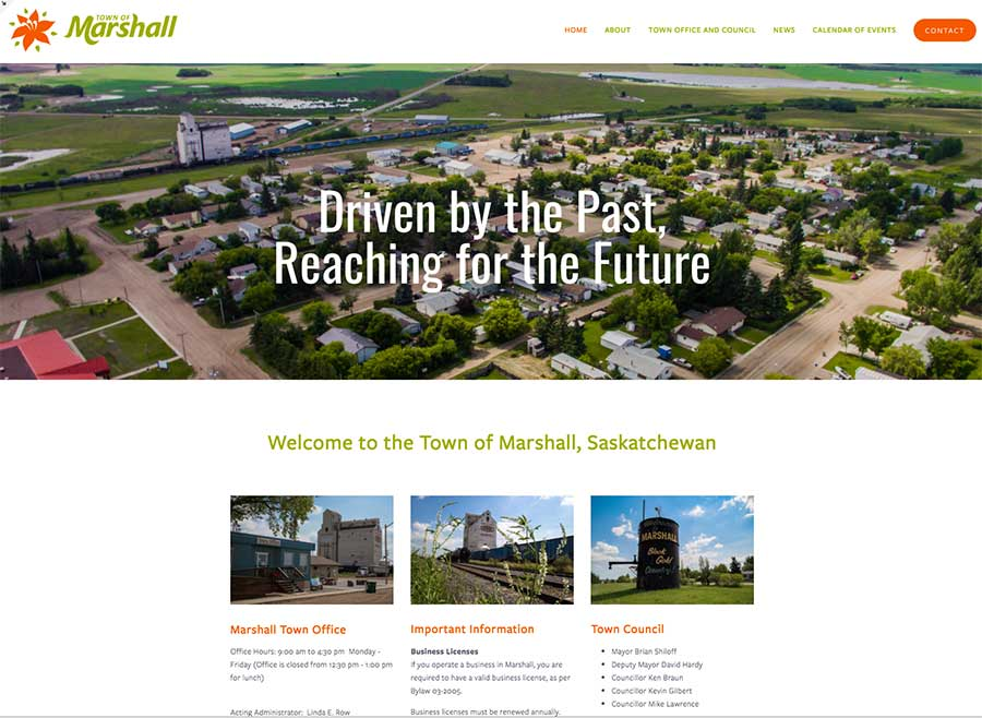 Town of Marshall by Griffith Digital Media