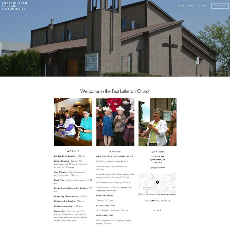 First Lutheran Church by Griffith Digital Media