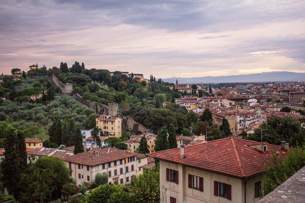 Outside Florence