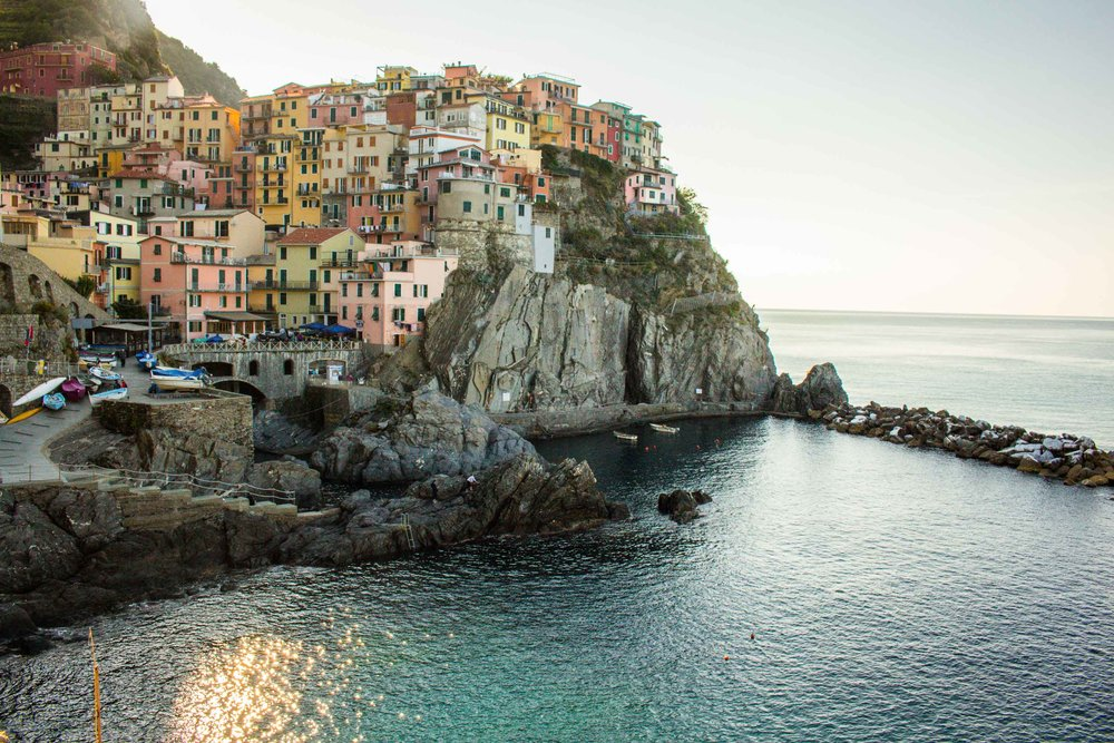 Edge of Manarola