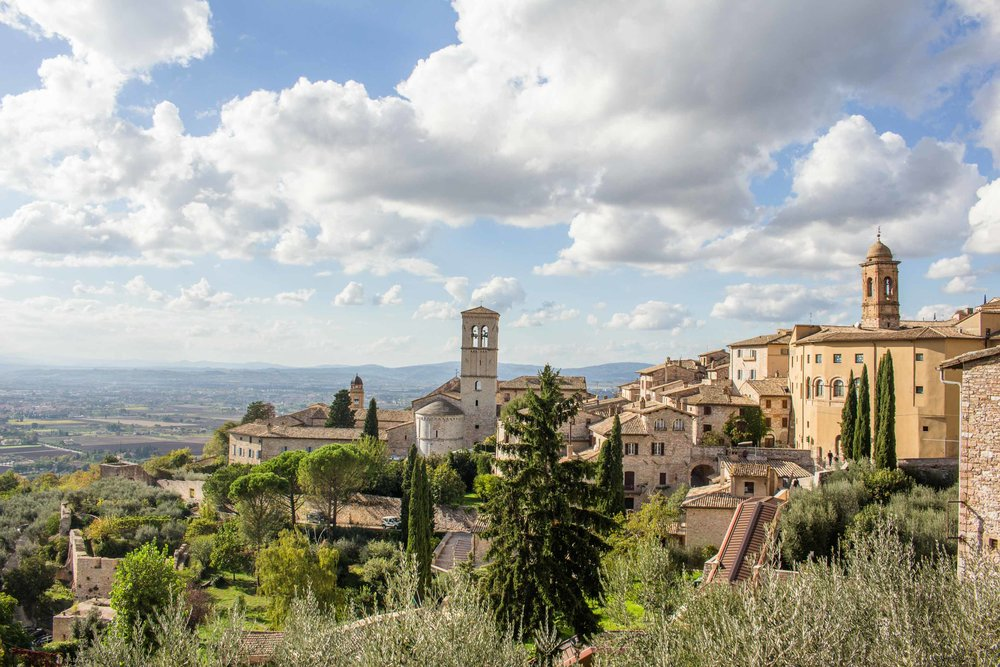 Old City of Assisi