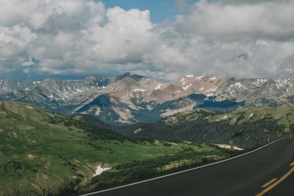On Trail Ridge Road