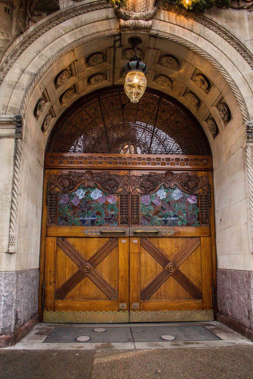 Church Door, Aarhus, Denmark