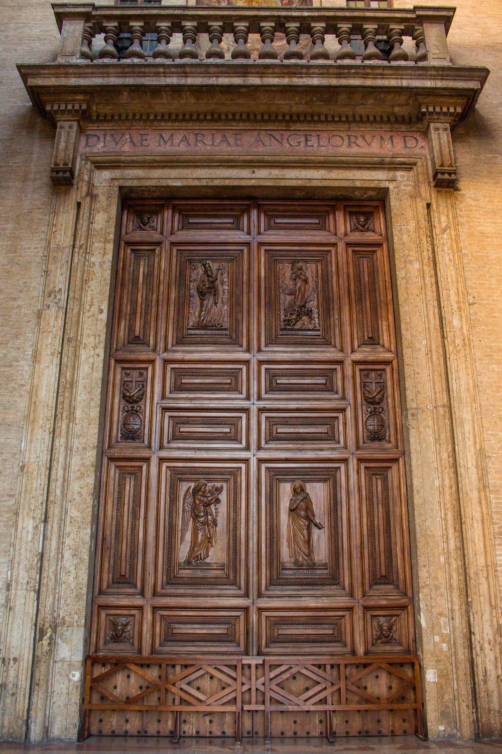 Church Door, Assisi, Italy