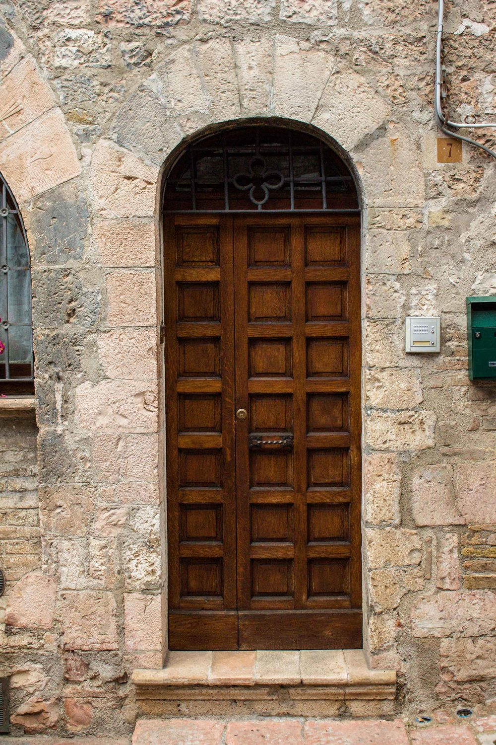 Wood Door, Assisi, Italy