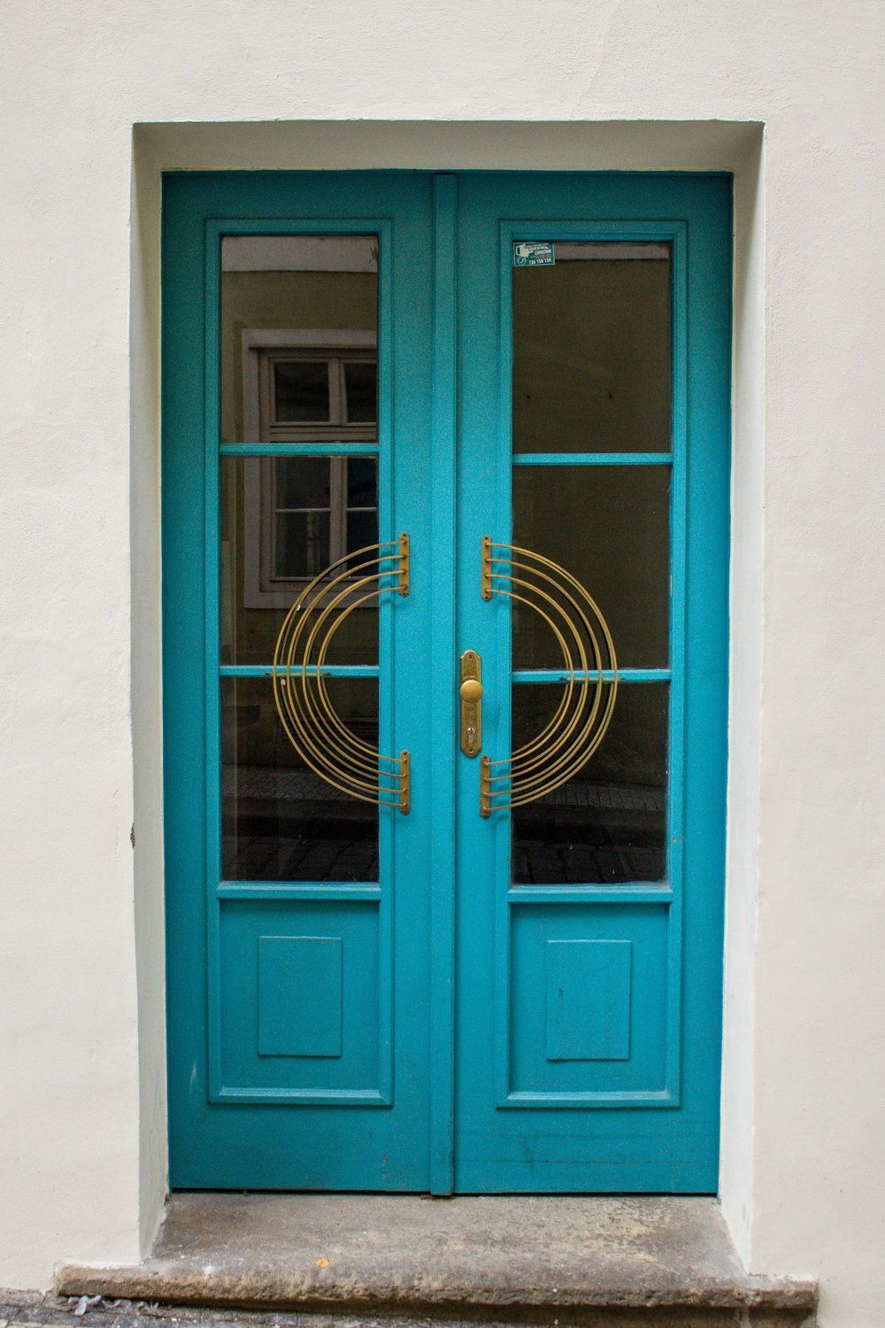 Blue Door, Prague, Czech Republic