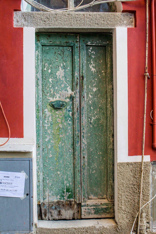 Green Door, Cinque Terre, Italy