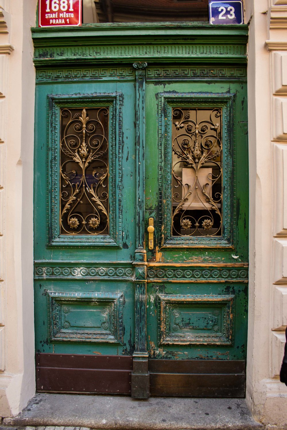 Green Door, Prague, Czech Republic