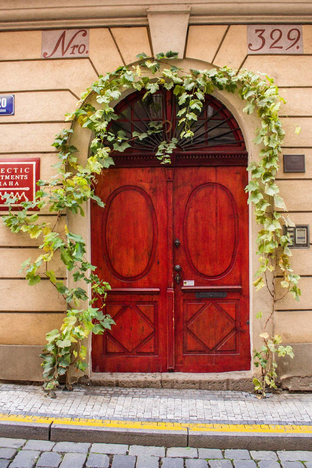Red Door, Prague, Czech Republic