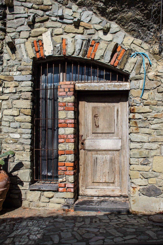 Stone Door, Cinque Terre, Italy