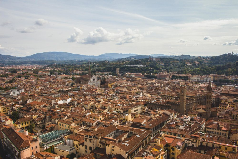 View of Santa Croce from the Duomo