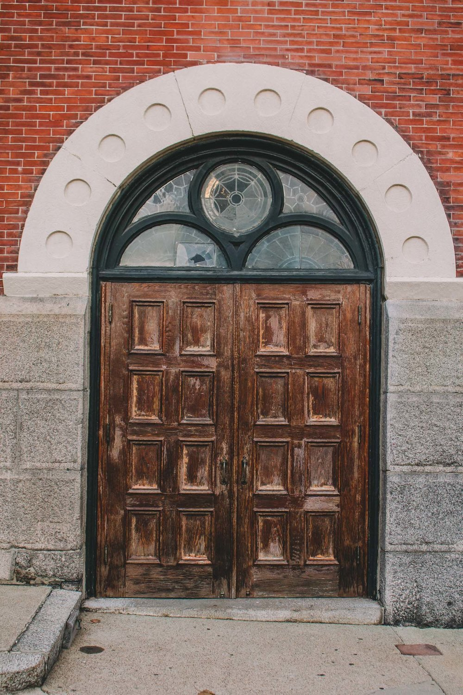 Church Door, Salem, MA