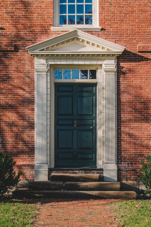 Derby House Door, Salem, MA
