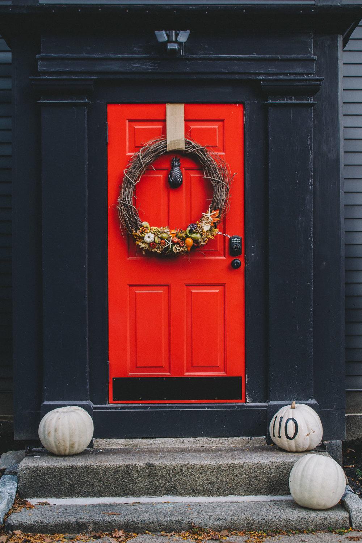Halloween Door, Salem, MA