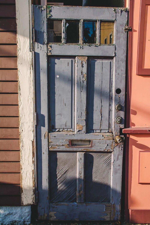 Old Alley Door, Salem, MA