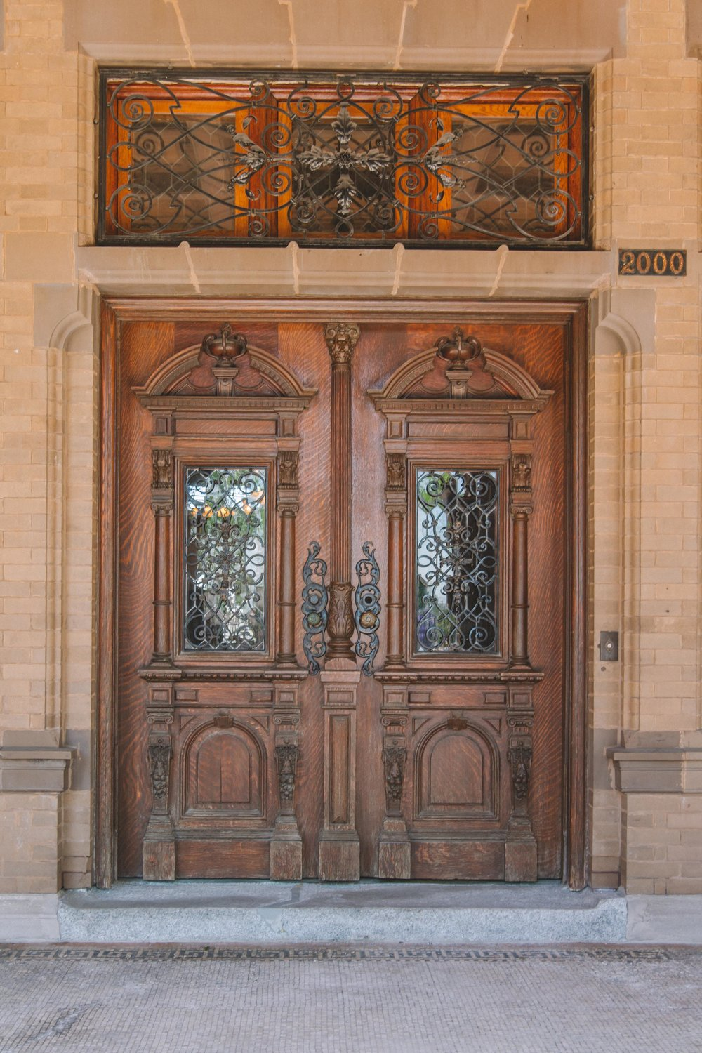 Milwaukee, Pabst Mansion Front Door