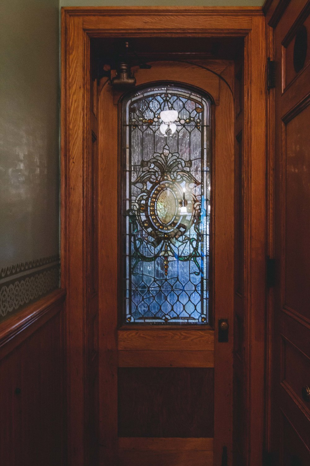 Milwaukee, Pabst Mansion Pantry Door
